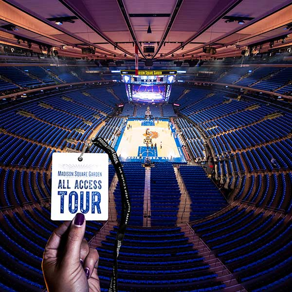 Madison Square Garden All Access Tour All Access Tour Tickets