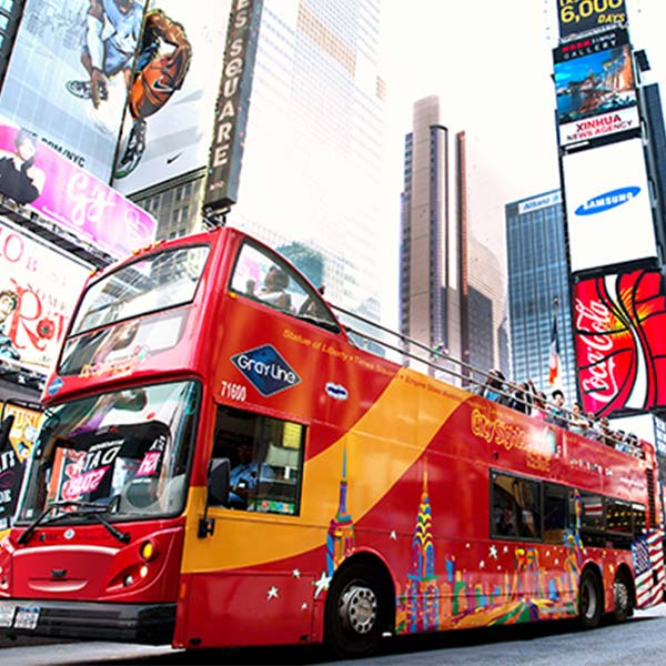 4 Days in New York City | Four Days NYC Itinerary Gray Line Hop On Off Nyc Map on
